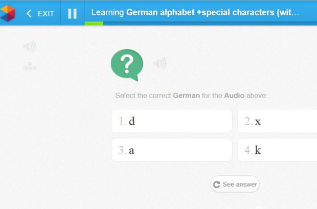 learn german alphabet
